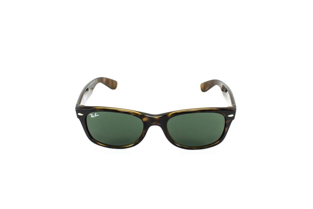RB 2132 NEW WAYFARER 902 52-18 3N   Occhiale da sole in celluloide avana  scuro tartarugato, lenti colore G15 (grigio-verde).   RAY-BAN    ShopOcchiali.it ... 123ce7009f4c