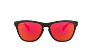 OO 9013 24-325 FROGSKINS� VALENTINO ROSSI COLLECTION POLISHED BLACK/FIRE IRIDIUM� 55-17 133