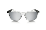OO 9013-72 FROGSKINS� ALPINE COLLECTION POLISHED CLEAR/CHROME IRIDIUM� 55-17 133